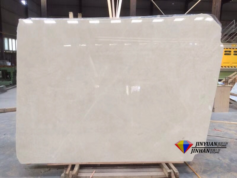 Crema Ella Beige Marble Slabs with A Quality