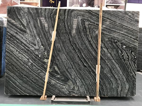 Black Forest Silver Wave Kenya Marble