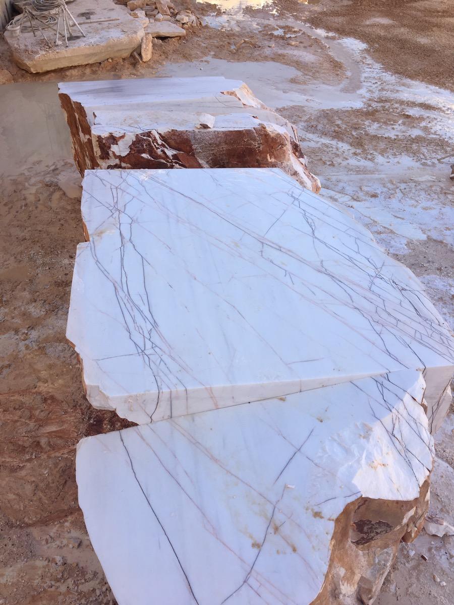 Rosso venato Marble Blocks