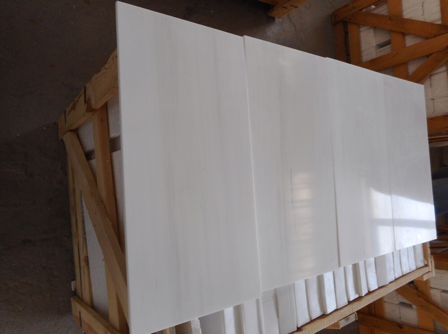 Bianco Dolomite Marble Tiles