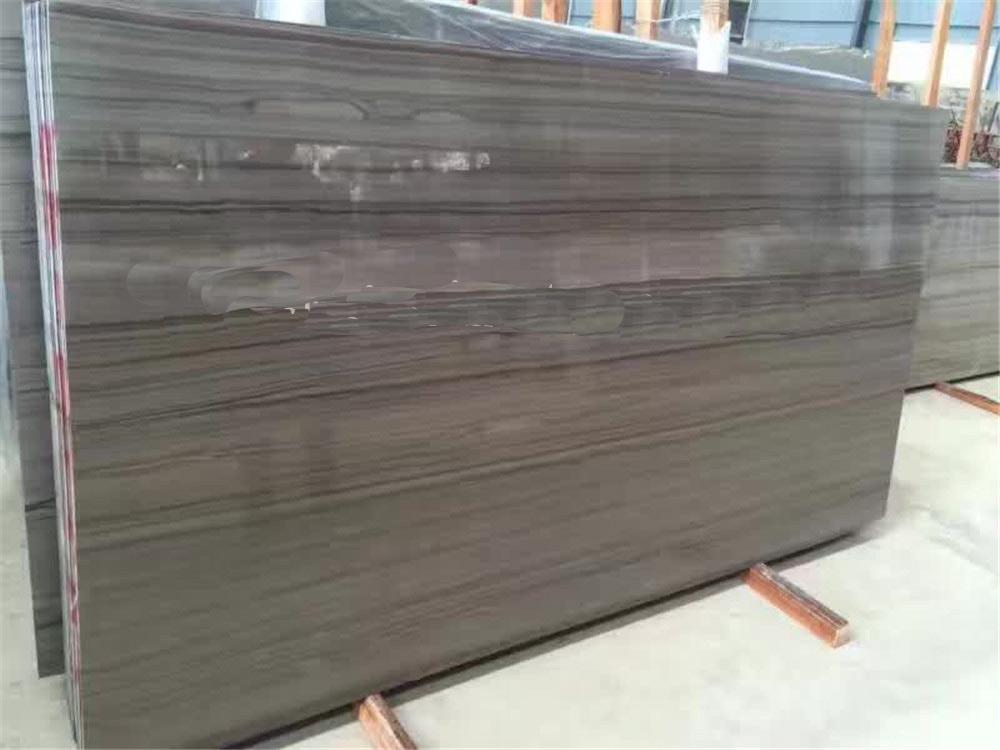 Brown Coffee Wooden Grain Marble Slabs