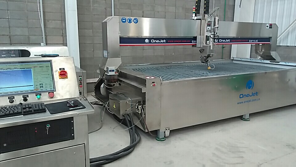 Onejet Waterjet Cutting Machine for all stone cutting