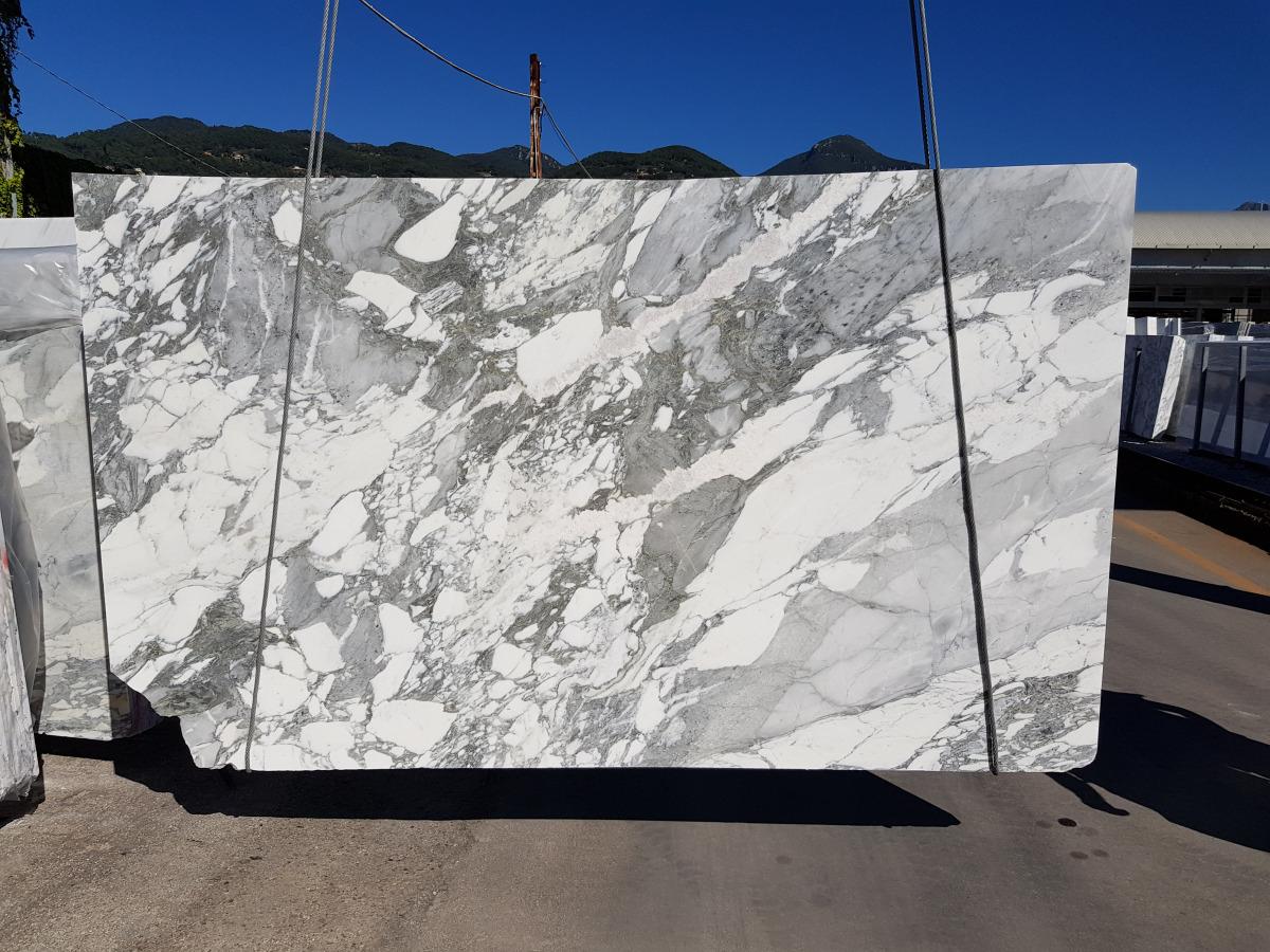 Arabescato White Marble slab