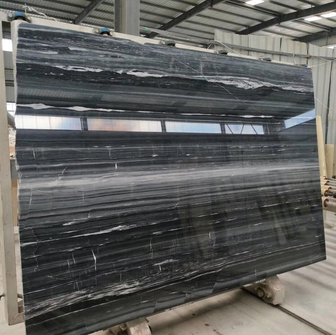 Black Wood Marble Slabs  Tiles Price Marble Factory