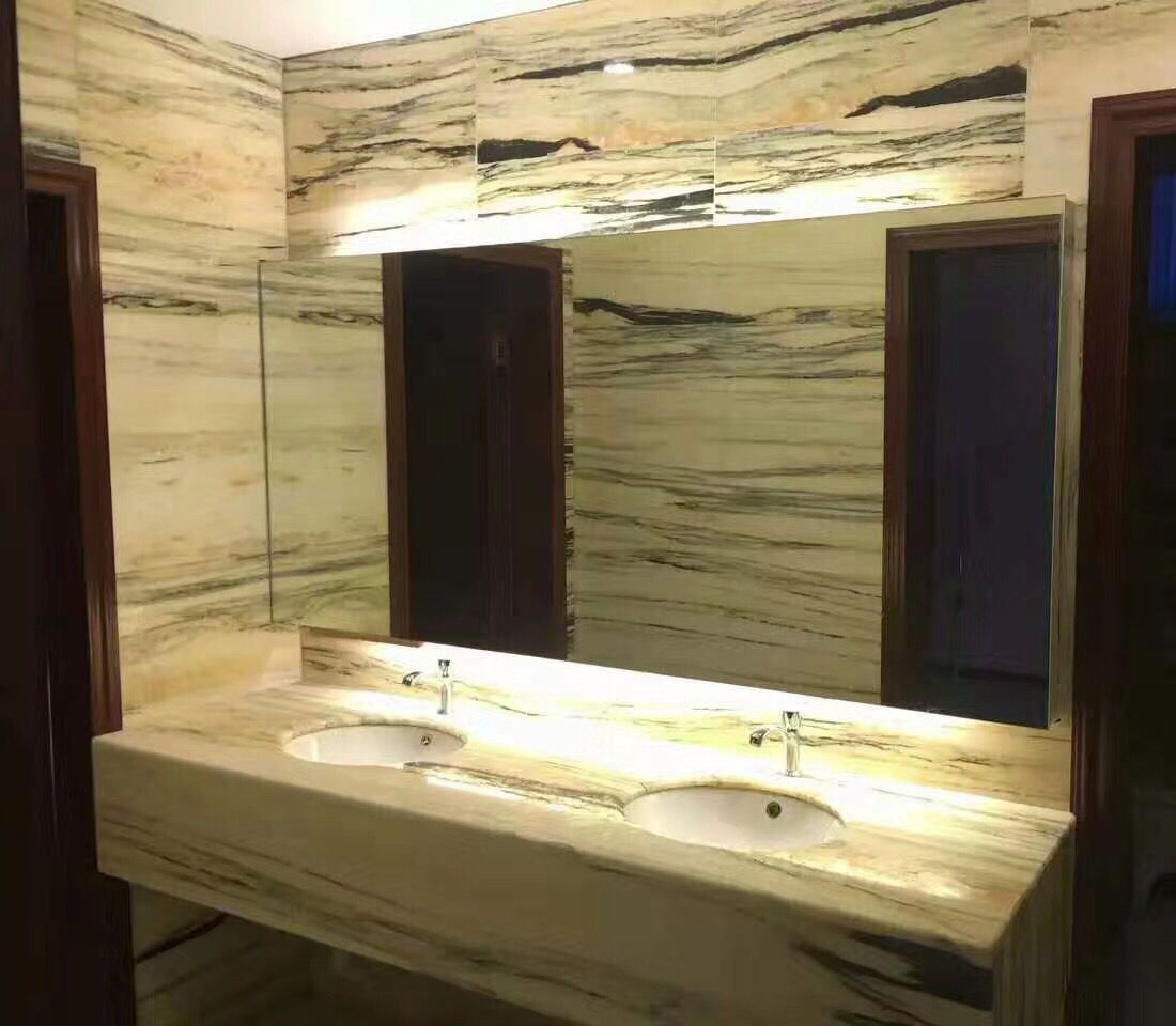 France Wood Natural Marble Countertops