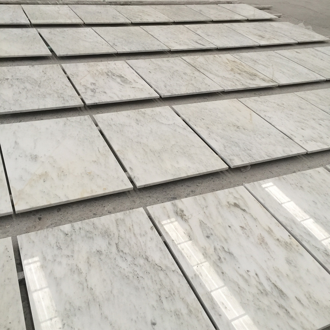 Ocean Galaxy White Marble Tiles and Slabs