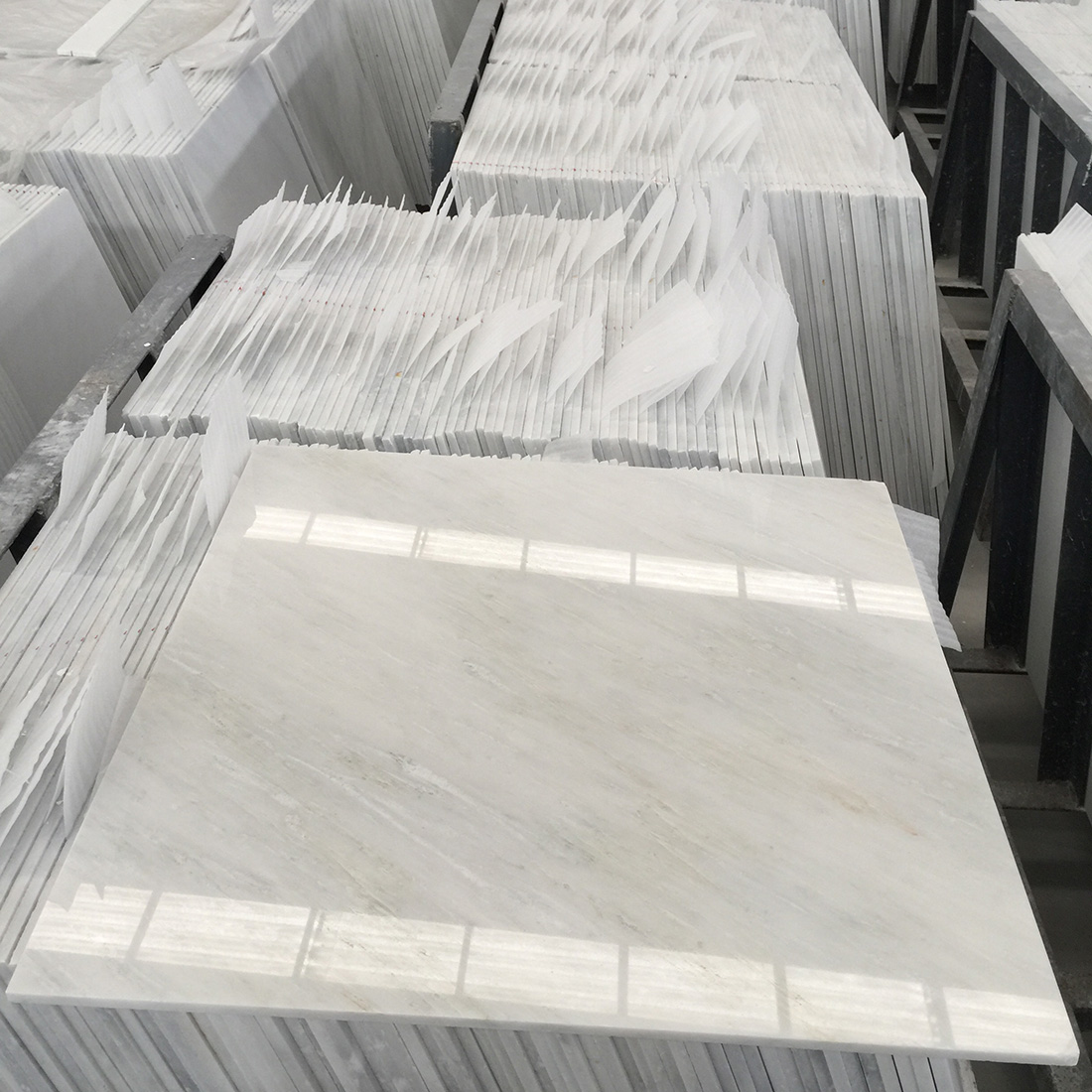 Oriental White Marble Tiles 24*24 inches