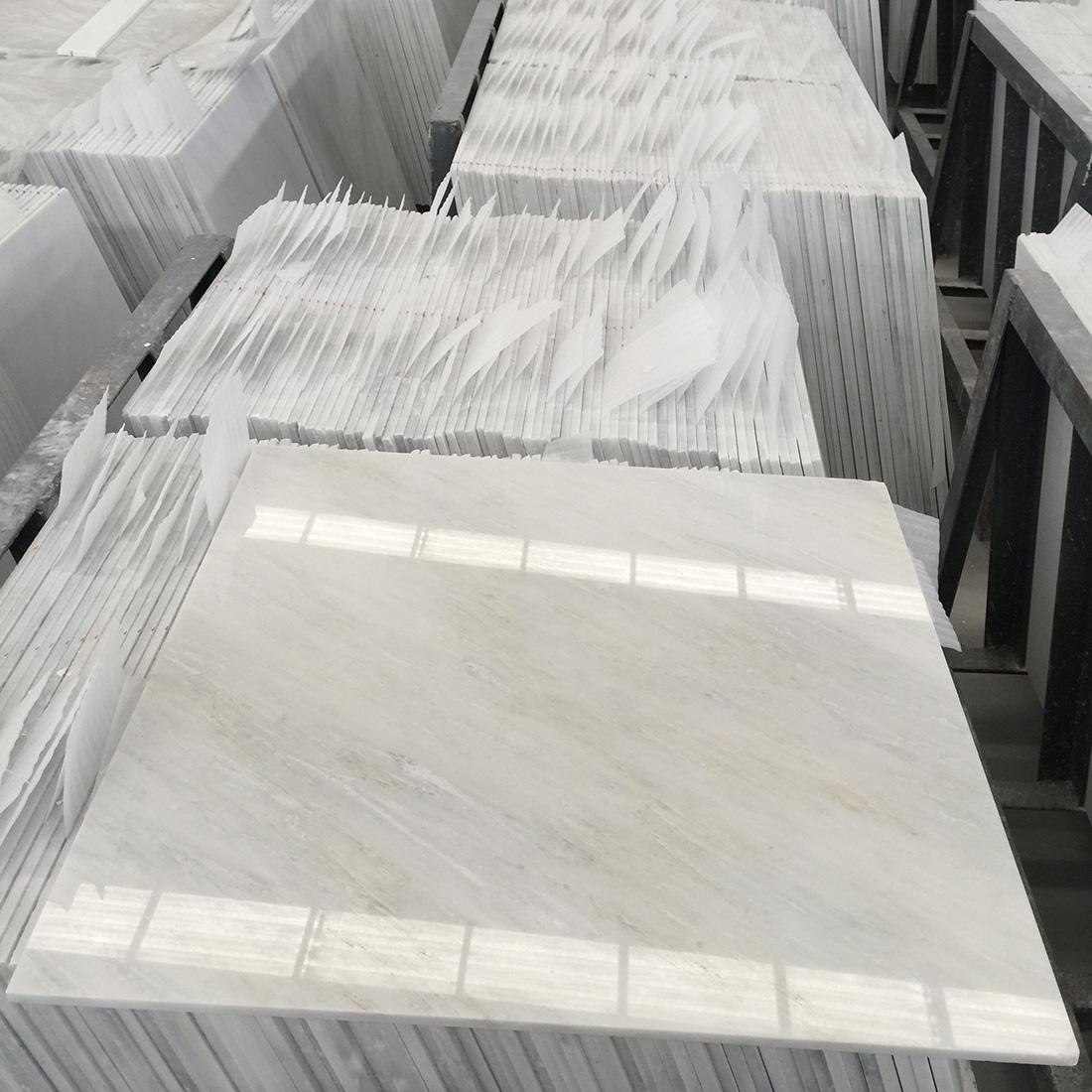 600*600mm White Marble Tiles