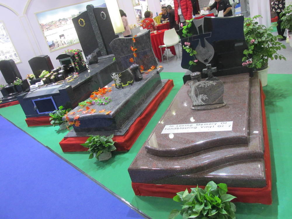 Custom luxury granite headstones monuments for sale