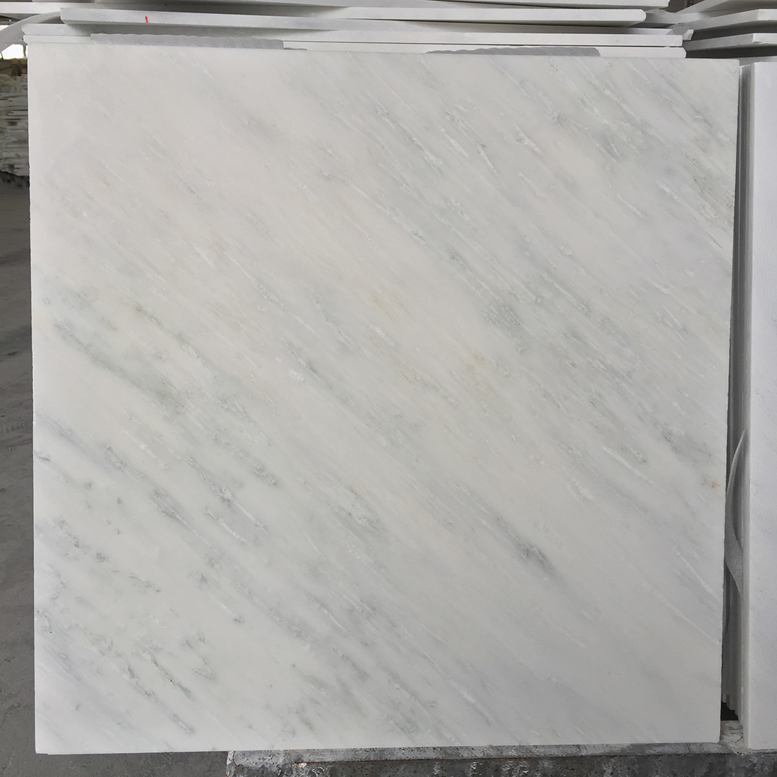 Honed White Marble Tiles