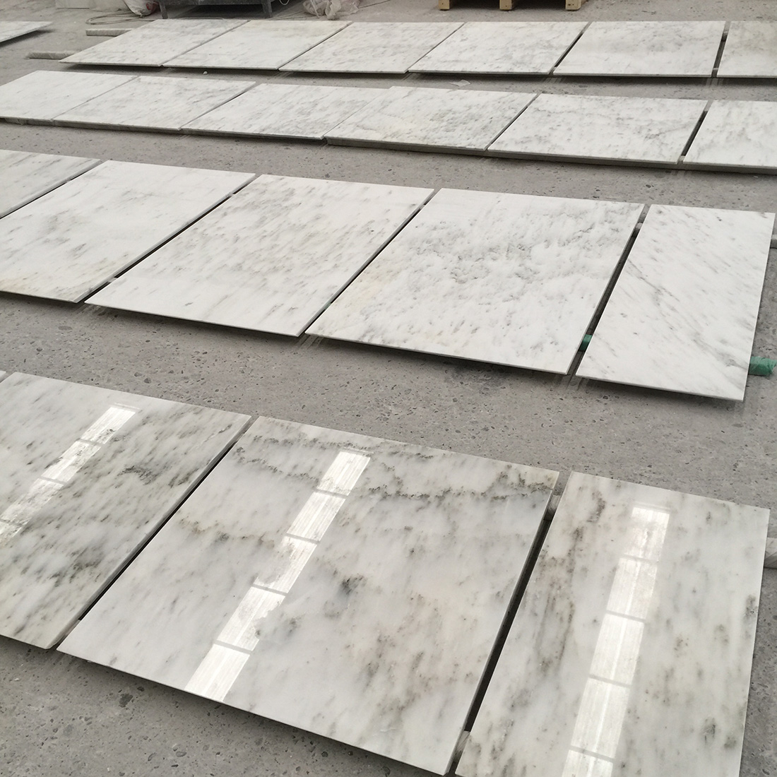 Ocean Galaxy White Marble Tiles & Slabs Available