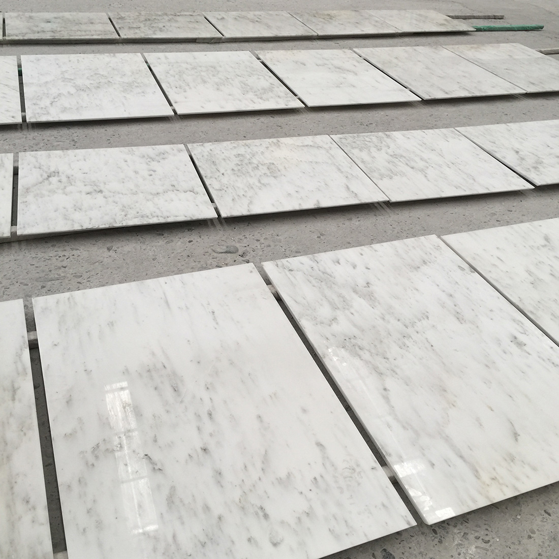 White Marble Tiles and Slabs Ocean Galaxy