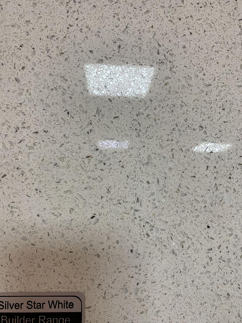ARTIFICAL QUARTZ STONE  SILVER STAR WHITE