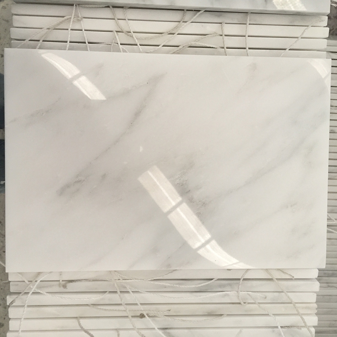 carrara oriental white marble tiles cut into all kinds of size