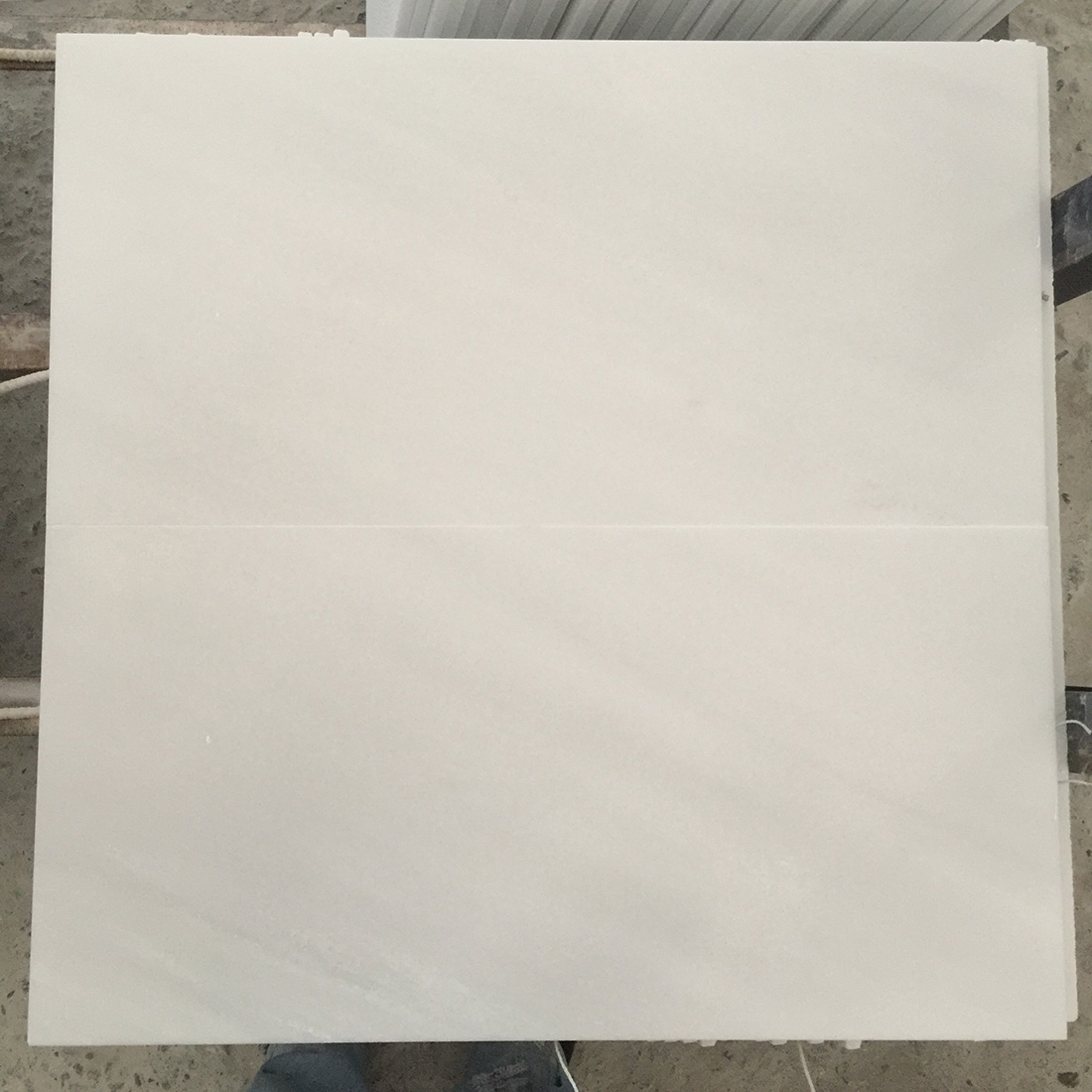 Honed Natural Stone Tiles White China