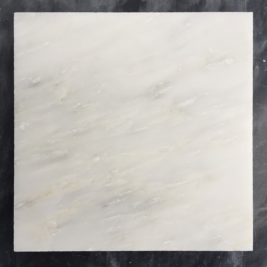 Honed New Oriental White Marble Tiles