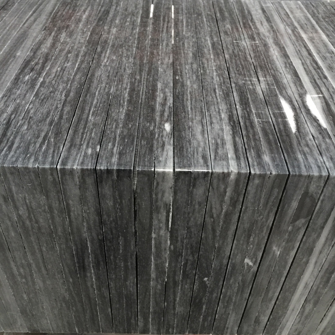 Six Sides Polished Black Marble For Artware