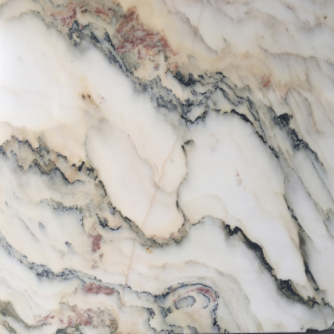 Landscape Painting Marble Slabs