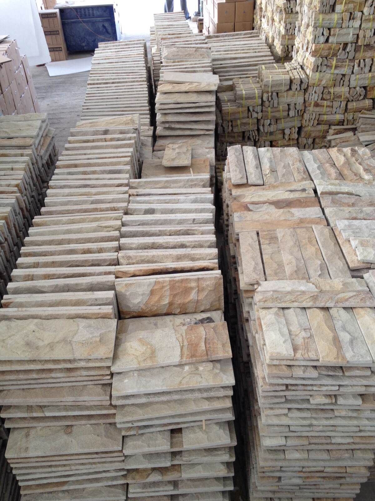 Yellow Palimanan Sandstone Tiles Yellow Sandstone Walling Tile