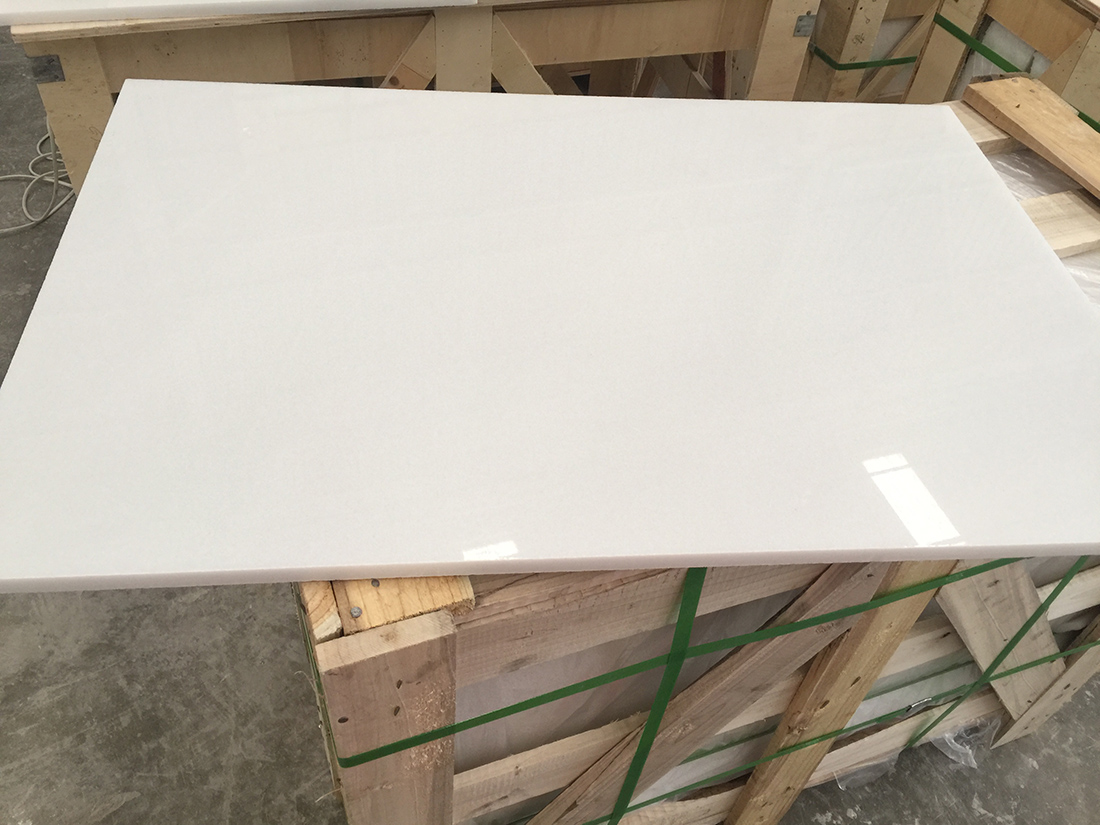 Pure White Tiles Marble