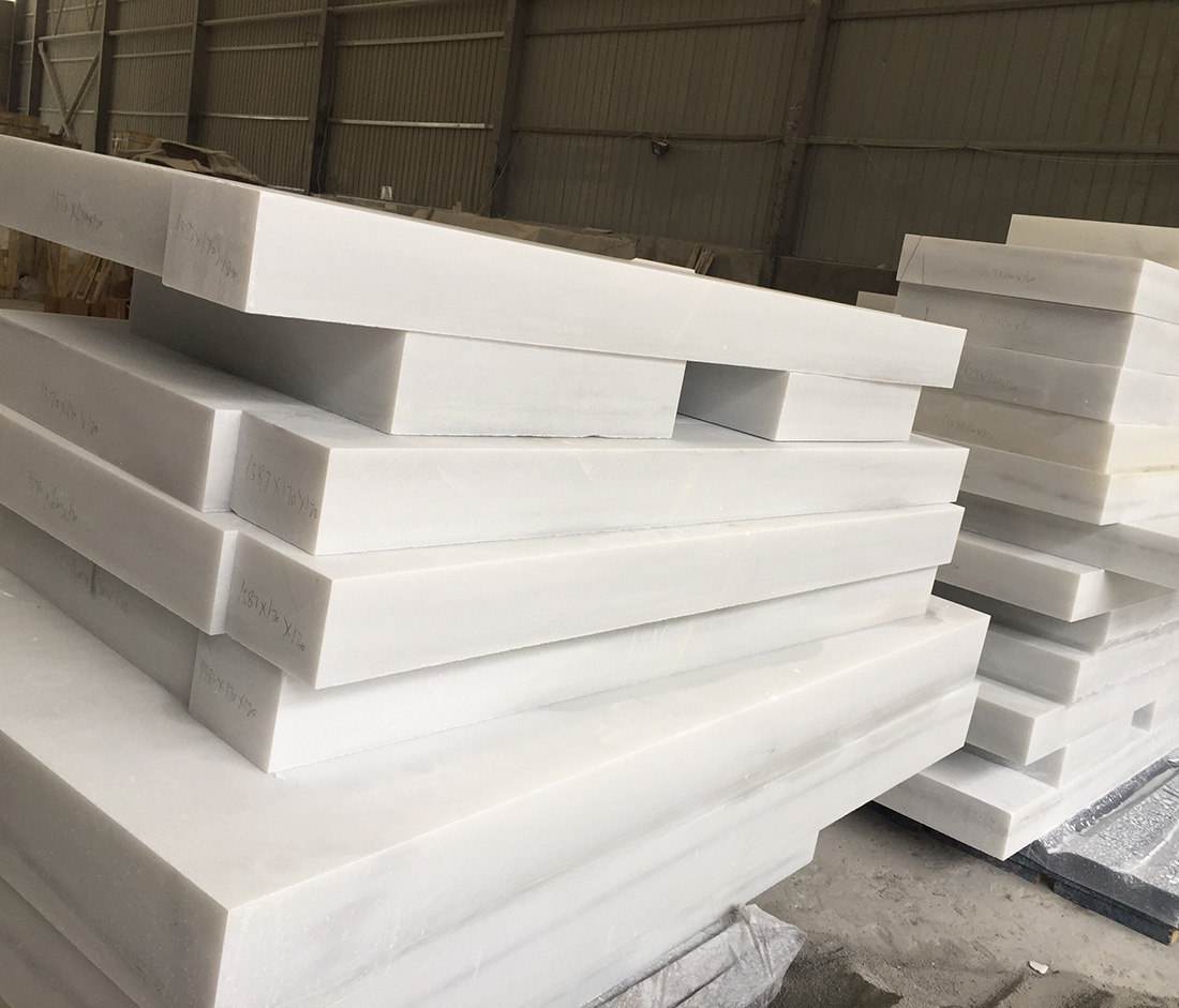 Natural Marble Sculpture Material China White