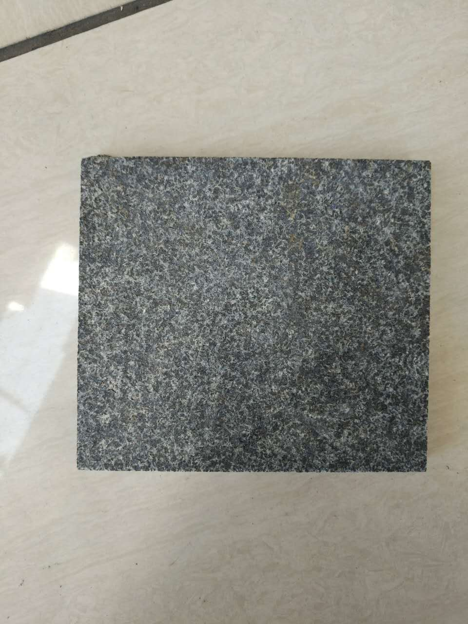 Chinese New Shanxi Black Granite Tiles with flamed surface