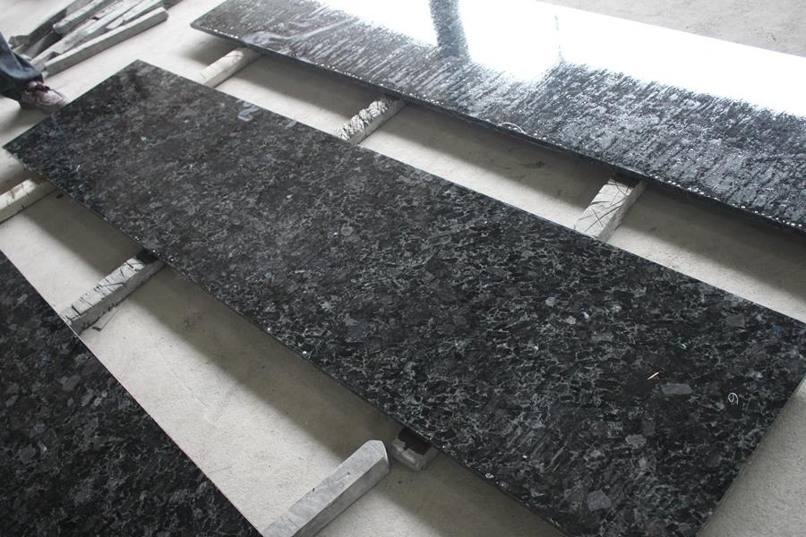 volga blue granite coutertop