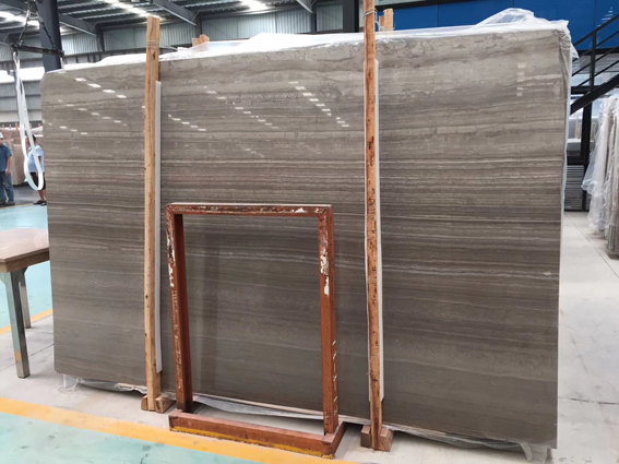 Coffee Wood Vein China Serpeggiante Marble New Eramosa Marble Slabs