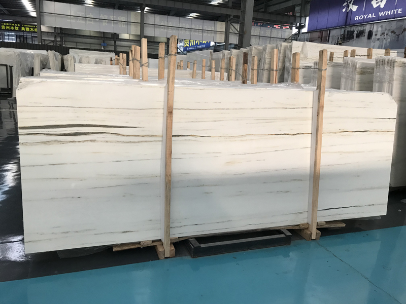 Royal Jasper White Marble  Chinese White Marble