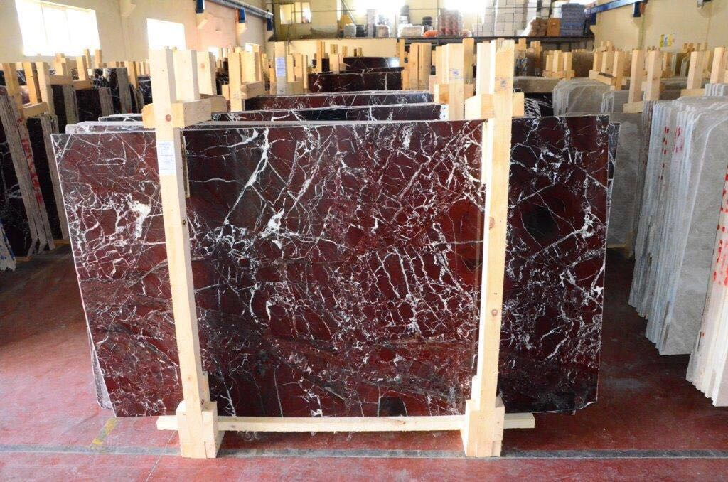 Padrino Red Marble Slabs
