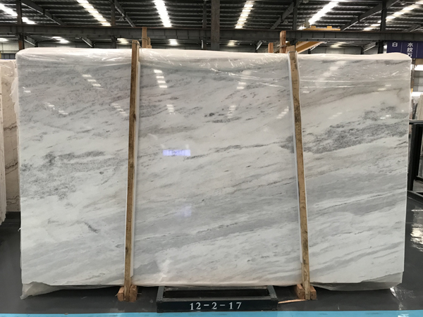 China Crystal White Marble Slab