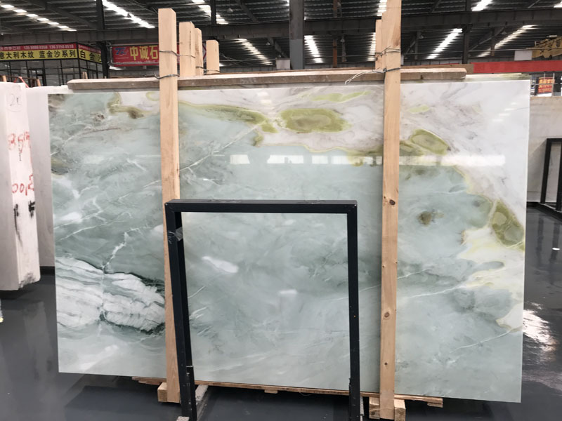 Dreaming Green Marble Slab  Mint Green Marble Slab