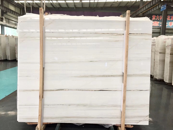 Royal Jasper Sichuan White Marble with Grey Vein