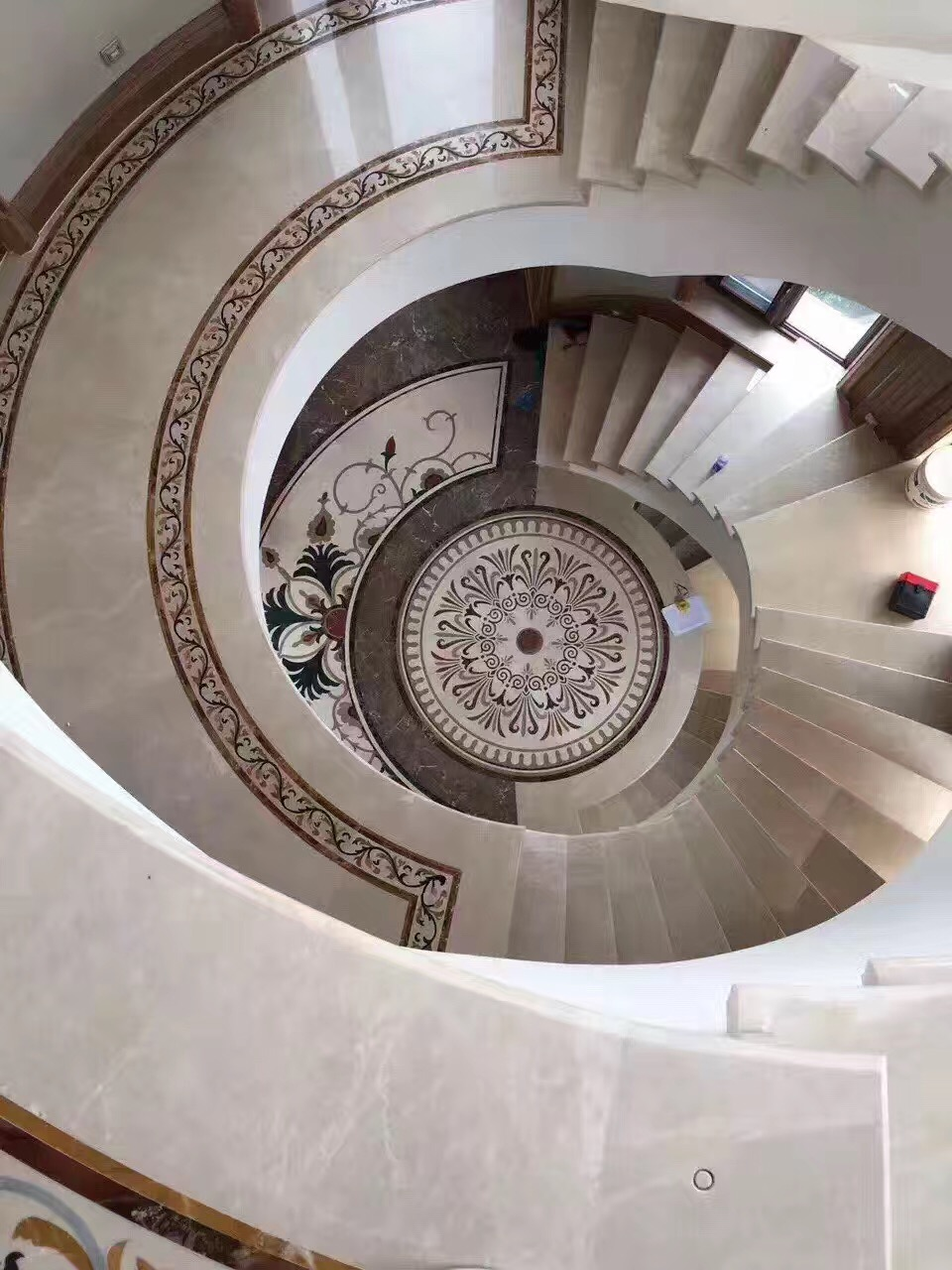 Bayulen Marble staircase wall tile step hotel casino tiles