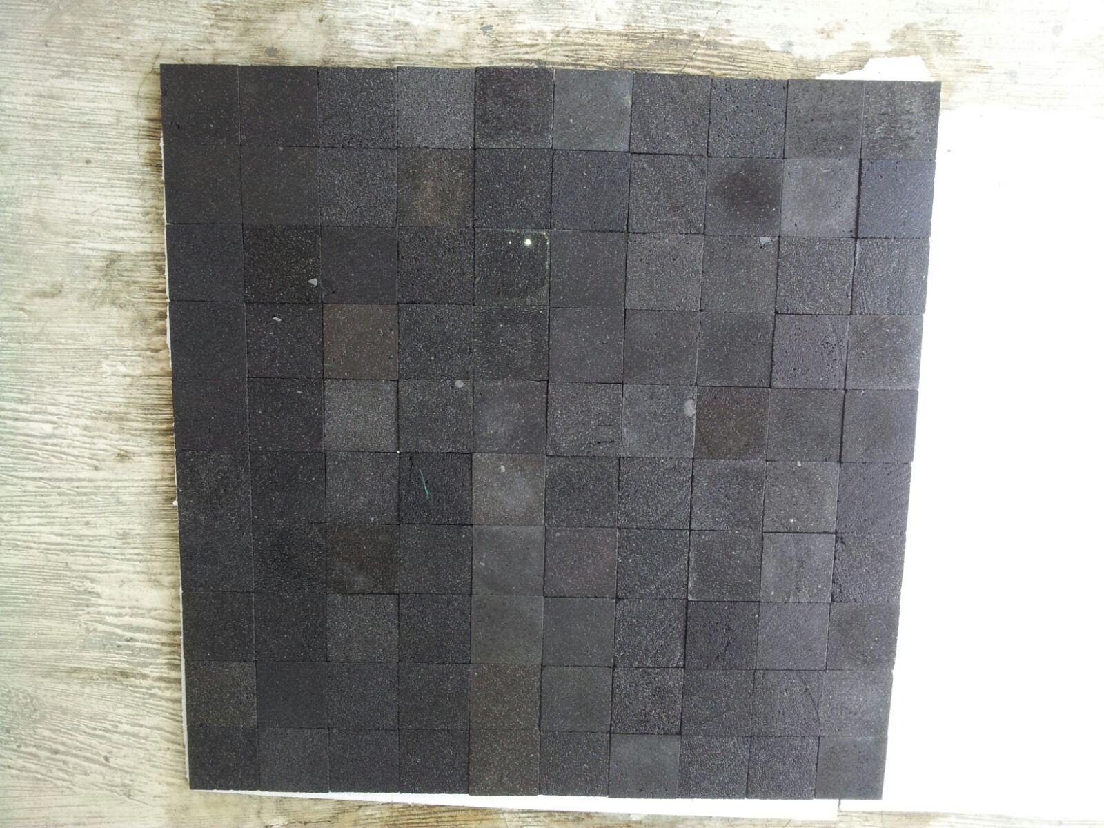 Black Lavastone Tiles Pool Coping