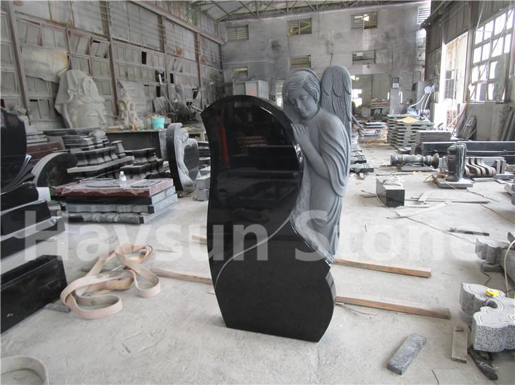 Wing Angel Heastone Tombstone for Russia Market