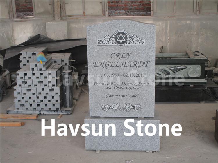 American Style Cheap Jewish Headstone Tombstone