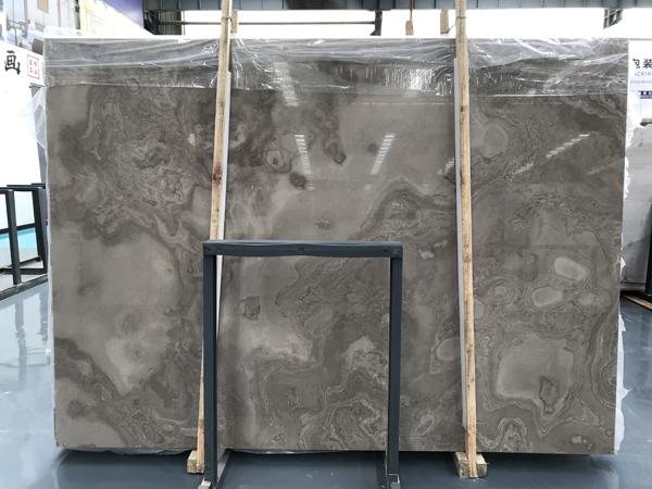 Coffee Wood Vein Cross Cut Marble Slabs