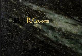 Sparklers Dark Green Granite