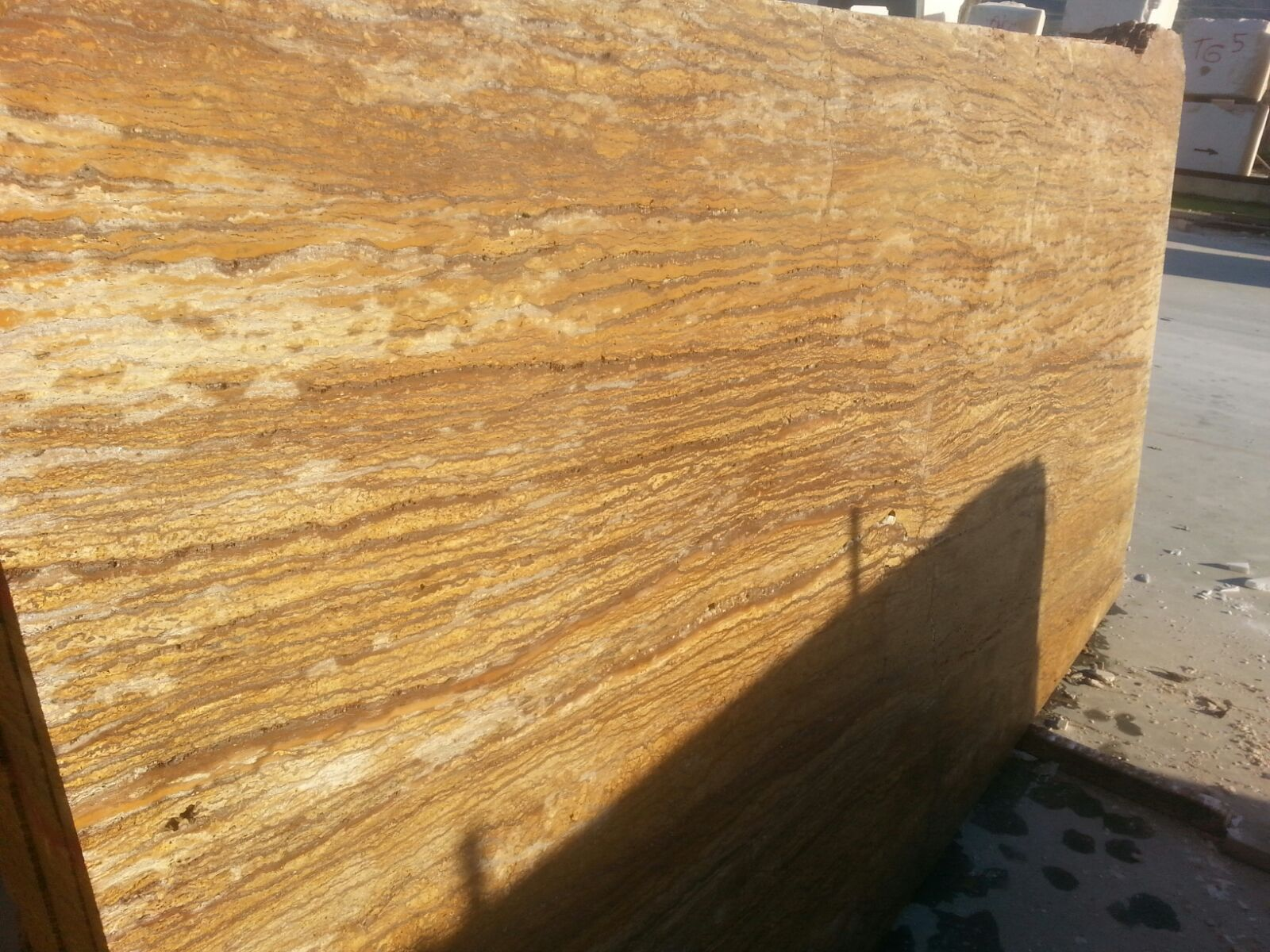 Yellow Travertine Slabs