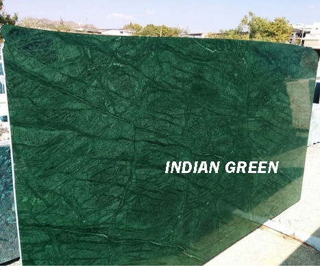 Indian Green Polished Marble Slabs