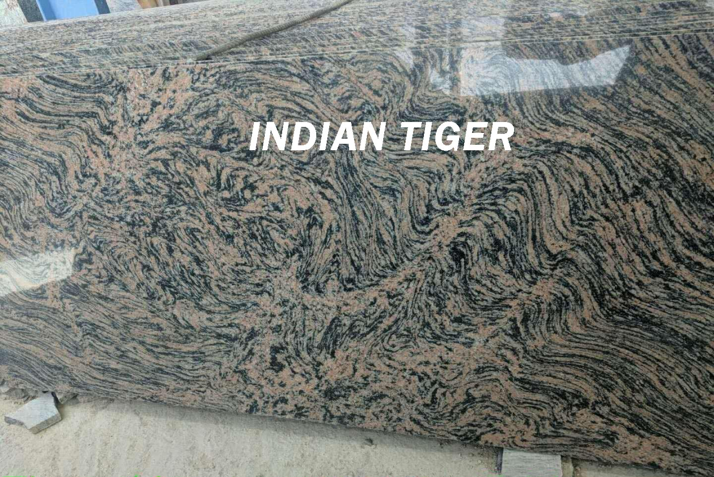 Indian Tiger Granite Slabs