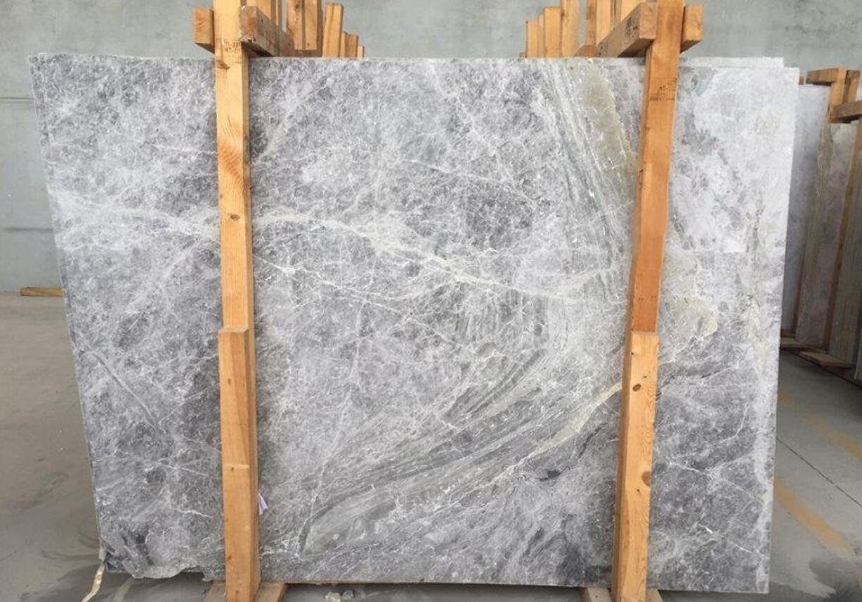 Ice Grey Marble Slabs
