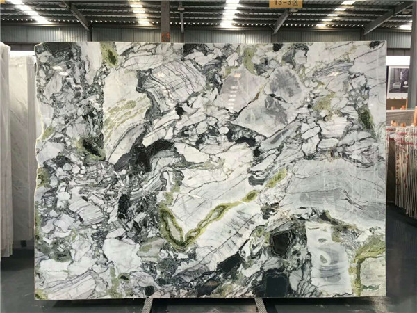 Ice Jade Green Marble For Project