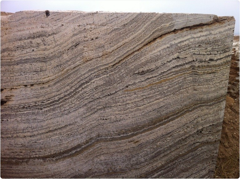 iran autumn travertine