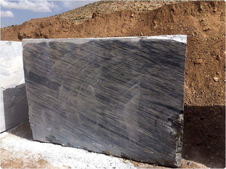 Gray Crystal Marble Blocks