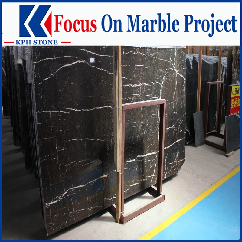 Royal Imperial Brown Gold Marble Slabs for Warwick New York