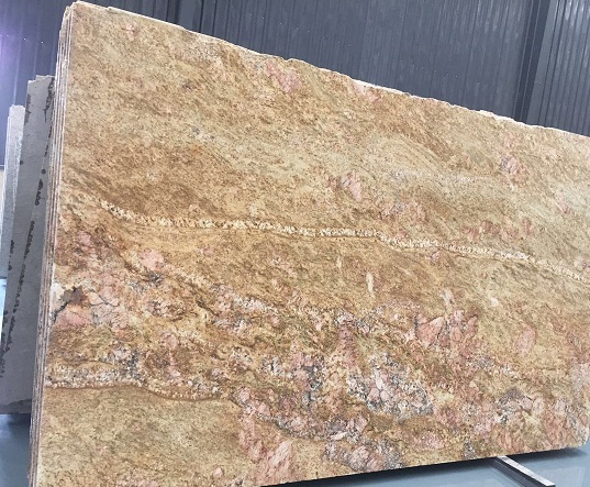 Lowest Price Imperial Gold Dust Granite Slabs & Tiles & Cut-To-Si