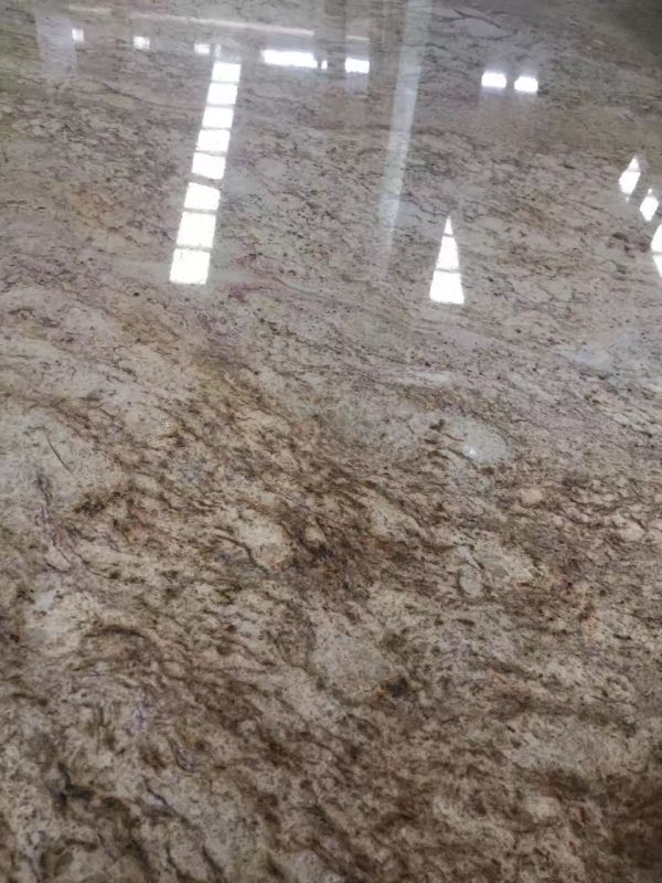 Lowest Price Imperial Gold Dust Granite Slabs & Tiles & Cut-To-Siz
