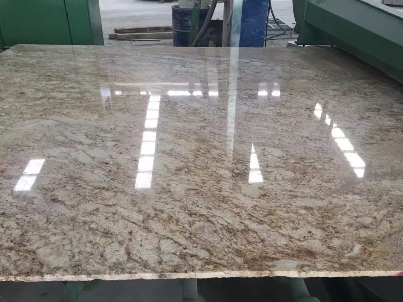 Lowest Price Imperial Gold Dust Granite Slabs Tiles